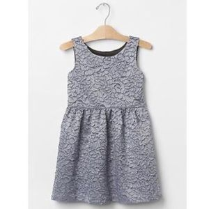 Gap   Rose embroidered fit & flare dress